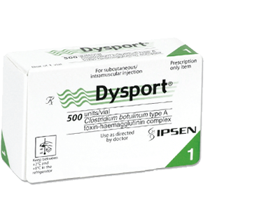 Dysport 500IU 1 vial