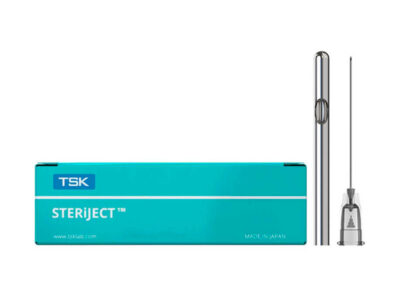 "TSK Closed Single Hole Cannula 27G x 38mm (1 1/2"")"